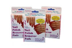 144 x Calico Nail Polish remover pads | Non Acetone | Wholesale